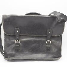 Vintage Coach All Leather Briefcase L7C-5294 Black