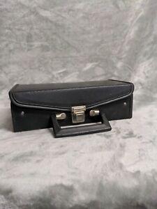 Cassette Storage Case Black VINTAGE  Holds 12 (Cassette Tapes not included!! )