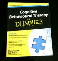 Cognitive Behavioural Therapy Dummies Book Psychology Self-Help CBT Paperback
