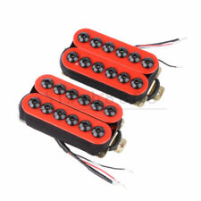 Invader Style Ceramic Magnet Humbucker Pickups For Electric Guitar Red