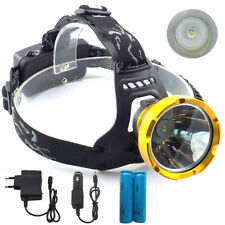 Led Head Lamp flashlight Camping Fishing Headlight Miner's headlamp torch light