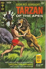 Tarzan Comic Book #184, Gold Key Comics 1969 VERY FINE-