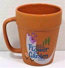 Disney Epcot Flower & Garden Festival 2017 Mickey & Pluto Figment Flower Pot Mug