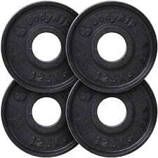 "BodyRip Standard Cast Iron Weight Plate Discs Set 1.25-20Kg 1"" Hole Gym Workout"