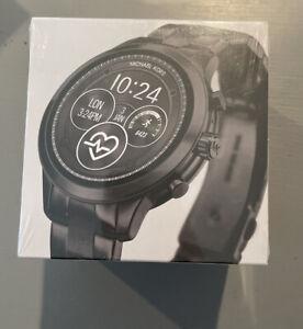 NEW Michael Kors Gen 4 Runway Black Smartwatch MKT5058 Sealed NIB. Retail 375$
