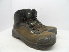 HELLY HANSEN Men's Composite Toe Composite Plate Leather Work Boots Black 10M