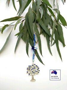 Blue Tree Of Life Suncatcher Wind Chime Garden/Home Ornament Hanging Decor