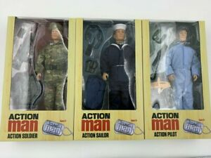 "Action Man Figure 12"" Deluxe Figure & Accessories Sailor Soldier Pilot Brand New"