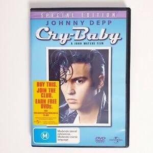 Cry Baby Special Edition Movie DVD Region 4 AUS Free Postage - Drama Johnny Depp