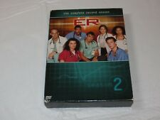 ER - The Complete Second Season DVD 2004 4-Disc Set Drama NR George Clooney