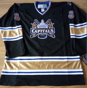 Capitals Black Alex Ovechkin Jersey M, L, XL, 2XL, 3XL