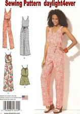 Women Dress Jumpsuit Sewing Pattern 1355 Simplicity Easy New 4-26 #u