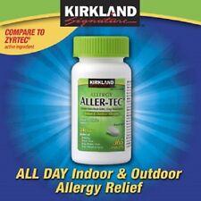 Kirkland Aller-Tec Allergy Antihistamine 10mg - 365 tablets (allertec) - NO TAX