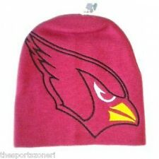 Arizona Cardinals Large Logo Cuffless Knit Hat