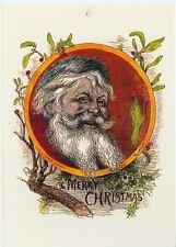 CHRISTMAS SANTA MERRY CHRISTMAS TOM NAST REPRODUCTION ON POSTCARD (X-161)