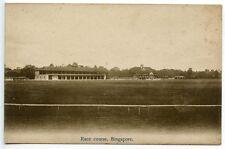 Malaya Circa 1910 Singapur Sepia Tarjeta - 'Race curso, Singapur-Sin Usar