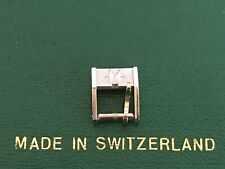 Vintage Hamilton 8mm Signed Steel Buckle NOS 1965-1975