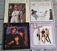 """4 X Shalamar 7"""" Singles  All Vinyl Excellent All Picture Sleeve"""