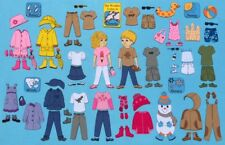 Dress for the Weather Felt Board Set. Includes Boy & Girl to Dress. Super Cute!