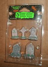 1/22 G Scale Gravestone Monument Models - Diorama Accessories - Lemax Headstones