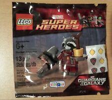 NEW Lego Rocket Raccoon Polybag TRU Exclusive 5002145 Guardians of the Galaxy