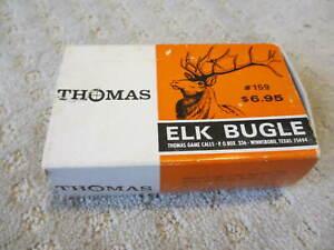 Vintage Thomas Elk Bugle Call #159 In Original Box