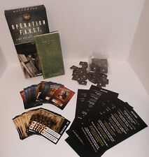 OPERATION F.A.U.S.T. World War II Card Game Rescue Art from Hitler's 3rd Reich
