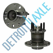Set of (2) New REAR Complete Wheel Hub and Bearing Assembly for Saturn L Series