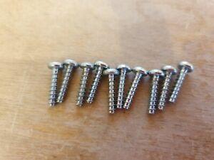 Dyson set of 10 original dyson screws silver