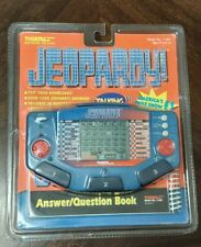 New ListingVintage Jeopardy Tiger Electronics Handheld Electronic Lcd Game New Sealed 1997