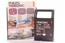 VINTAGE PHILIPS G7000 CONSOLE COMPUTER GAME -- VIDEOPAC 1 -- RACER GAME -- 1980