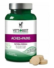 Vets Best Aspirin Free Aches + Pains Dog Supplement for Dog, 50 Tablets