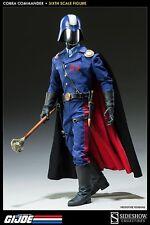 G.I. JOE~COBRA COMMANDER~THE DICTATOR~SIXTH SCALE FIGURE~SIDESHOW~MIB