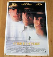 CODICE D'ONORE poster manifesto Tom Cruise Demi Moore Jack Nicholson Marines