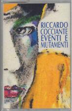 """RICCARDO COCCIANTE """" EVENTI E MUTAMENTI """"  MC MUSICASSETTA  SIGILLATA  K7"""