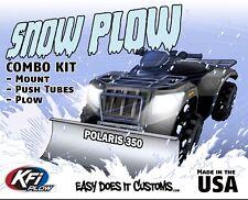 "Polaris 350 2x4 / 4x4 / 6x6 - 1993-older   KFI ATV 48"" Snow Plow Combo Kit"
