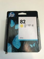 Brand New Factory Sealed HP 82 Yellow Ink Cartridge C4913A  (69ml)