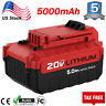 5.0Ah PCC685L Max Lithium-Ion Battery for PORTER CABLE 20 Volt 20V PCC680L Tools