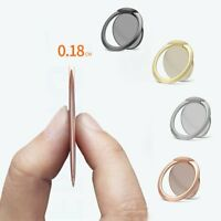 Ultra Thin Magnetic Phone Holder Mount Finger Ring Stand For iPhone XS MAX XR 8