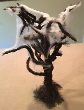 "Spooky Tree Halloween Display Prop Village 22"" Tall ~Great!"
