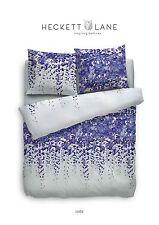 HnL Pure Cotton Bettwäsche Lydia blau Blauregen Blumenmeer  135x200  4-tlg.