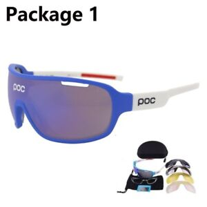 POC Glasses Outdoor Goggles Cycling Mountain Bike Bicycle Sunglasses Men Women