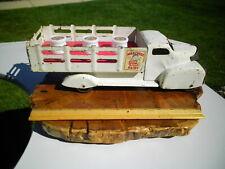 1930s Marx Dairy Milk Toy Stake Truck Insert 3 Vintage Bottles Pressed Steel