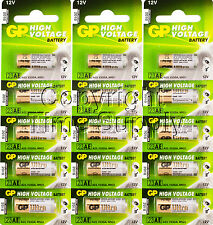 15 PCS GP23AE GP 23A MN21 A23 V23GA VR22 12 VOLT Batteries Expire 2018