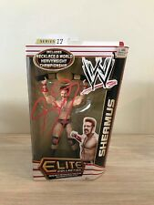Authentic Autographed Sheamus - WWE Elite Series 17 by Mattel - signed in red