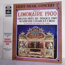 """33T ORGUE LIMONAIRE 1900 Vinyle LP 12"""" LIGHT MUSIC CONCERT VOL.6 -EMI C048-23003"""