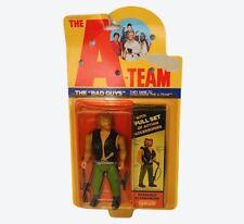A-Team action figure vtg Galoob toy Bad Guys Viper Sniper Moc sealed Mr T Face