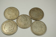 *5* 1921-S DATE OLD MORGAN SILVER DOLLARS