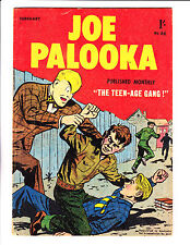 """Joe Palooka No 66 1958 - Austrailian-""""The Teen-Age Gang Cover ! """""""