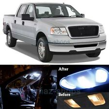 15x Pure White Interior LED Lights Package Kit for 2004-2008 Ford F-150 F150 MP